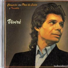 CDs de Música: CAMARON CON PACO DE LUCIA Y TOMATITO VIVIRÉ . Lote 149481546