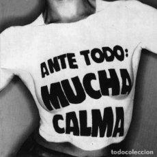 CDs de Música: SINIESTRO TOTAL - ANTE TODO MUCHA CALMA CD 1992 DESCATALOGADO - PUNK ROCK. Lote 149484030