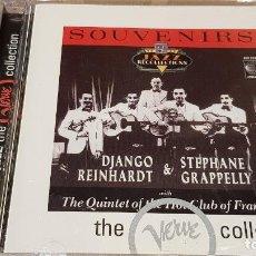 CDs de Música: DJANGO REINHARDT & STEPHANE GRAPELLY / SOUVENIRS / CD - LIMELIGHT / 25 TEMAS / DE LUJO.. Lote 149504610