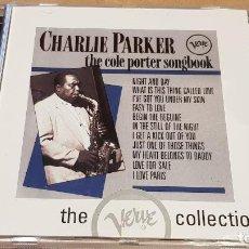 CDs de Música: CHARLIE PARKER / THE COLE PORTER SONGBOOK / CD - 12 TEMAS / CALIDAD LUJO.. Lote 149505966