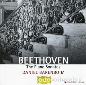 BEETHOVEN - THE PIANO SONATAS - DANIEL BARENBOIM – EDICION COLECCIONISTAS -CAJA 9 CDS (Música - CD's Clásica, Ópera, Zarzuela y Marchas)