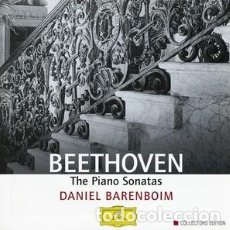 CDs de Música: BEETHOVEN - THE PIANO SONATAS - DANIEL BARENBOIM – EDICION COLECCIONISTAS -CAJA 9 CDS. Lote 149515190