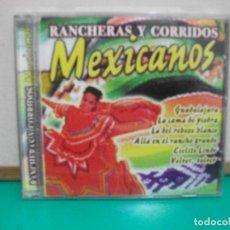 CDs de Música: RANCHERAS Y CORRIDOS MEXICANOS VARIOS CD ALBUM. Lote 149515702