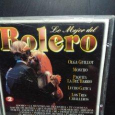 CDs de Música: CD LO MEJOR DEL BOLERO ( MONCHOOLGA GUILLOT, PAQUINA DEL BARRIO, LUCHO GATICA, LOS TRES CABALLEROS . Lote 149540306