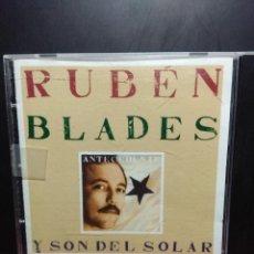 CDs de Música: CD RUBEN BLADES Y SON DEL SOL : ANTECEDENTE . Lote 149540530