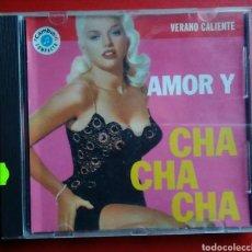 CDs de Música: CD MÚSICA AMOR Y CHA CHA CHA VERANO CALIENTE AÑO 1993. Lote 149542086