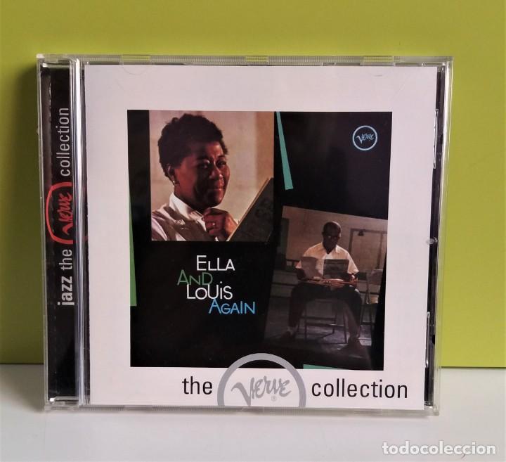 ELLA AND LOUIS AGAIN CD JAZZ REISSUE, REMASTERED (Música - CD's Jazz, Blues, Soul y Gospel)