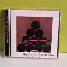 CDs de Música: CANNONBALL & COLTRANE CANNONBALL ADDERLEY & JOHN COLTRANE CD. Lote 149581014