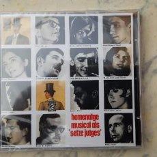 CDs de Música: CD NOVA CANÇO : HOMENATGE MUSICAL ALS SETZE JUTGES. SIN ESTRENAR . Lote 149584234