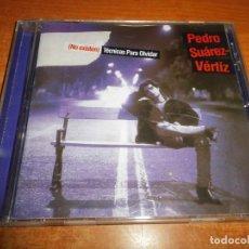 CDs de Música: PEDRO SUAREZ-VERTIZ NO EXISTEN TECNICAS PARA OLVIDAR CD ALBUM AÑO 1995 PERU 11 TEMAS CHRISTIA MEIER. Lote 149590734
