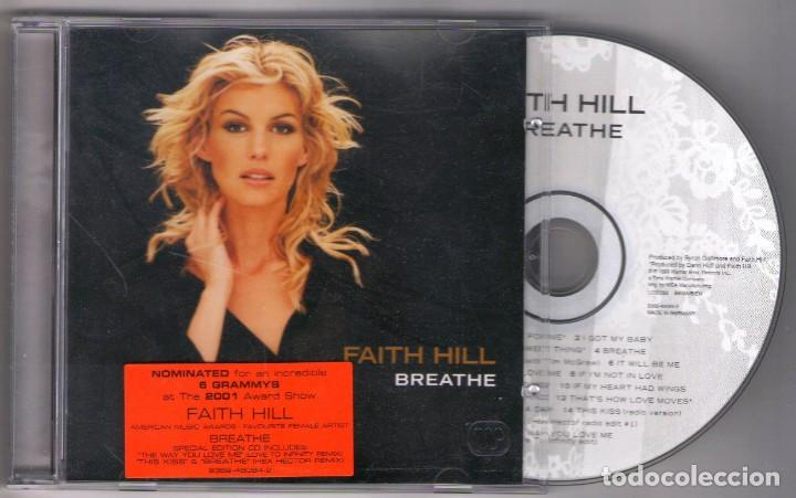 CD FAITH HILL BREATHE (Música - CD's Pop)