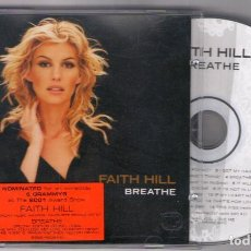 CDs de Música: CD FAITH HILL BREATHE. Lote 149592982