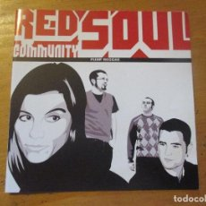 CDs de Música: RED SOUL COMMUNITY PUMP REGGAE CD EP 4 CANCIONES LIQUIDATOR 2007 CON NOTA DE PRENSA. Lote 149630278