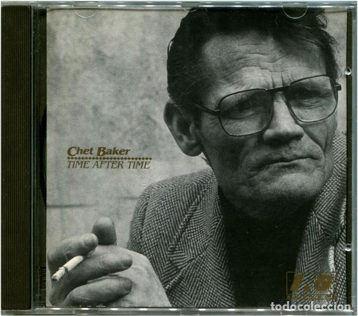 CHET BAKER – TIME AFTER TIME - CD ITALIA 1989 - IRD RECORDS TDM 004-2 (Música - CD's Jazz, Blues, Soul y Gospel)