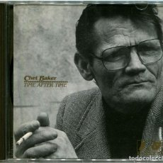 CDs de Música: CHET BAKER ‎– TIME AFTER TIME - CD ITALIA 1989 - IRD RECORDS TDM 004-2. Lote 149641862