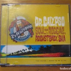 CDs de Música: DR. CALYPSO SOUL, REGGAE, ROCKSTEADY, SKA CD SINGLE K INDUSTRIA CULTURAL 2000 CON NOTA DE PRENSA. Lote 149646774