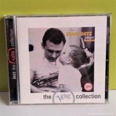 CDs de Música: STAN GETZ - STAN GETZ PLAYS-JAZZ-VERVE RECORDS. Lote 149666762
