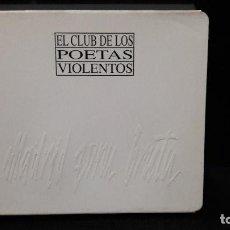 CDs de Música: CPV EL CLUB DE LOS POETAS VIOLENTOS -MADRID ZONA BRUTA EDICION EXTRA DIFICIL BUEN ESTADO. Lote 149687362