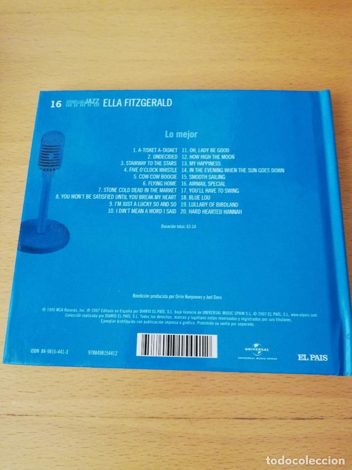 CDs de Música: ELLA FITZGERALD. LO MEJOR (EL PAIS, ESTRELLAS DEL JAZZ) CD - Foto 7 - 149690538