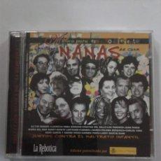 CDs de Música: NANAS CANCIONES DE CUNA VICTOR MANUEL-LOS PANCHOS-JUAN PARDO-CARMEN PARIS. CD. Lote 149722506