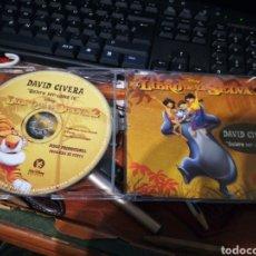 CDs de Música: DAVID CIVERA CD SINGLE PROMOCIONAL QUIERO SER COMO TU (EL LIBRO DE LA SELVA 2) DISNEY 2003. Lote 149745866