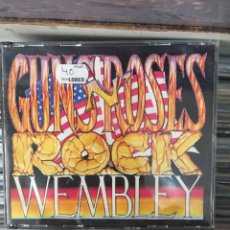 CDs de Música: GUNS N' ROSES ROCK WEMBLEY.. Lote 149803409