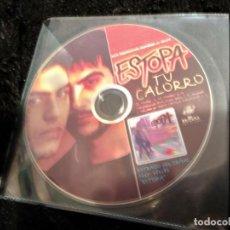 CDs de Música: ESTOPA / TU CALORRO (CD SINGLE PICTURE PROMO 1999). Lote 149806286