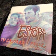 CDs de Música: ESTOPA, CD SINGLE, TU CALORRO, FELIZ (VERSION LERELE. Lote 149808054