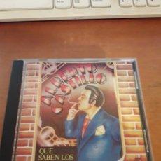 CDs de Música: ALBERTO CASTILLO. QUE SABEN LOS PITUCOS. EDICIÓN DE 1990 USA . RARA.. Lote 149816697