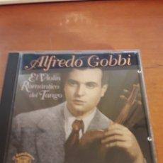 CDs de Música: ALFREDO GOBBI. EL VIOLÍN ROMÁNTICO DEL TANGO. EDICIÓN DE 1995 SUIZA. RARO. Lote 149821734