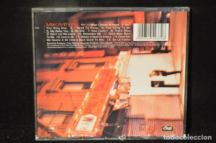 CDs de Música: MARC ANTHONY - MARC ANTHONY - CD - Foto 2 - 149855822