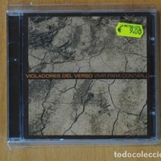 CDs de Música: VIOLADORES DEL VERSO - VIVIR PARA CONTARLO - CD. Lote 149863425