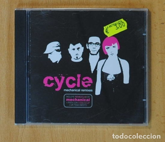 CYCLE - MECHANICAL REMIXES - CD (Música - CD's Rock)