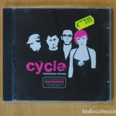 CDs de Música: CYCLE - MECHANICAL REMIXES - CD. Lote 149865842