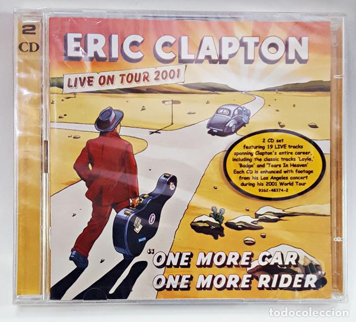 CD DOBLE DE ERIC CLAPTON. LIVE ON TOUR 2001.PRECINTADO. (Música - CD's Jazz, Blues, Soul y Gospel)