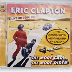 CDs de Música: CD DOBLE DE ERIC CLAPTON. LIVE ON TOUR 2001.PRECINTADO.. Lote 149866010