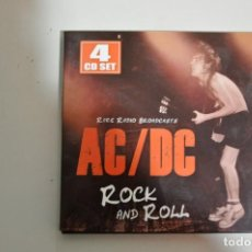 CDs de Música: AC / DC - ROCK AND ROLL , RARE RADIO BROADCASTS 4XCD. Lote 149881154