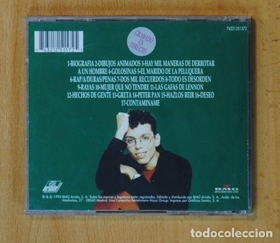 CDs de Música: PEDRO GUERRA - GOLOSINAS - Foto 2 - 149884832