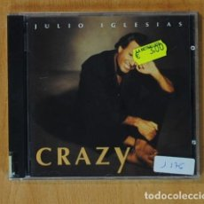 CDs de Música: JULIO IGLESIAS - CRAZY - CD. Lote 149885057