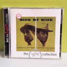 CDs de Música: DUKE ELLINGTON & JOHNNY HODGES SIDE BY SIDE CD ALBUM VERVE COLLECTION. Lote 149890194