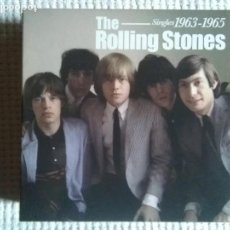 CDs de Música: THE ROLLING STONES '' SINGLES 1963-1965 '' 12 CD + BOOKLET + 3 PRINTS BOX 2004. Lote 178837122