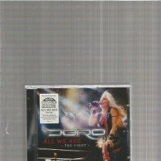 CDs de Música: DORO ALL WE ARE . Lote 150017434