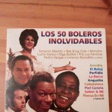 CDs de Música: LOS 50 BOLEROS INOLVIDABLES. 3 CD'S 2001 NOVOSON. BOLEROS INOLVIDABLES VOL 1 Y 2. BOLEROS CUBANOS.. Lote 150029877
