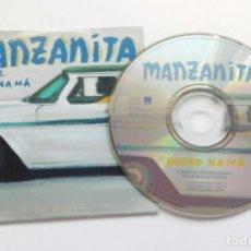 CDs de Música: MANZANITA 'HUESO NA MÁ' CD SINGLE PROMO 2002 GITANO CUBANO. Lote 150087446