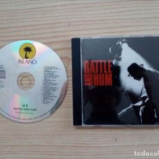 CDs de Música: U2 - RATTLE AND HUM CD. Lote 150113518