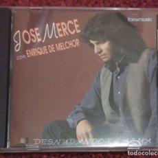 CDs de Música: JOSE MERCE CON ENRIQUE MELCHOR (DESNUDANDO EL ALMA) CD 1994. Lote 150114450