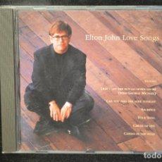 CDs de Música: ELTON JOHN - LOVE SONGS - CD. Lote 151364520