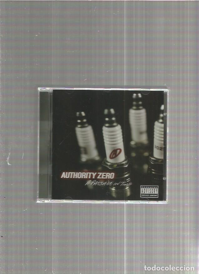 AUTHORITY ZERO PASSAGE (Música - CD's Rock)