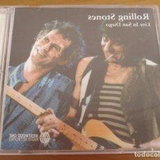 CDs de Música: THE ROLLING STONES. PRECIOSO CD DOBLE TITULADO: LIVE IN SAN DIEGO 1998. Lote 150205022