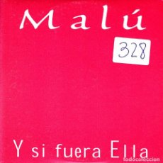 CDs de Música: MALU - Y SI FUERA ELLA CD SINGLE 1 TRACK PROMO 1999. Lote 220835853